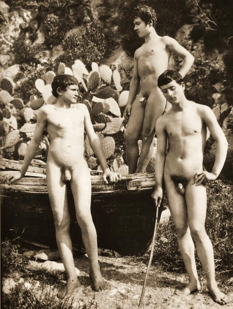 vintage argentinr nude men