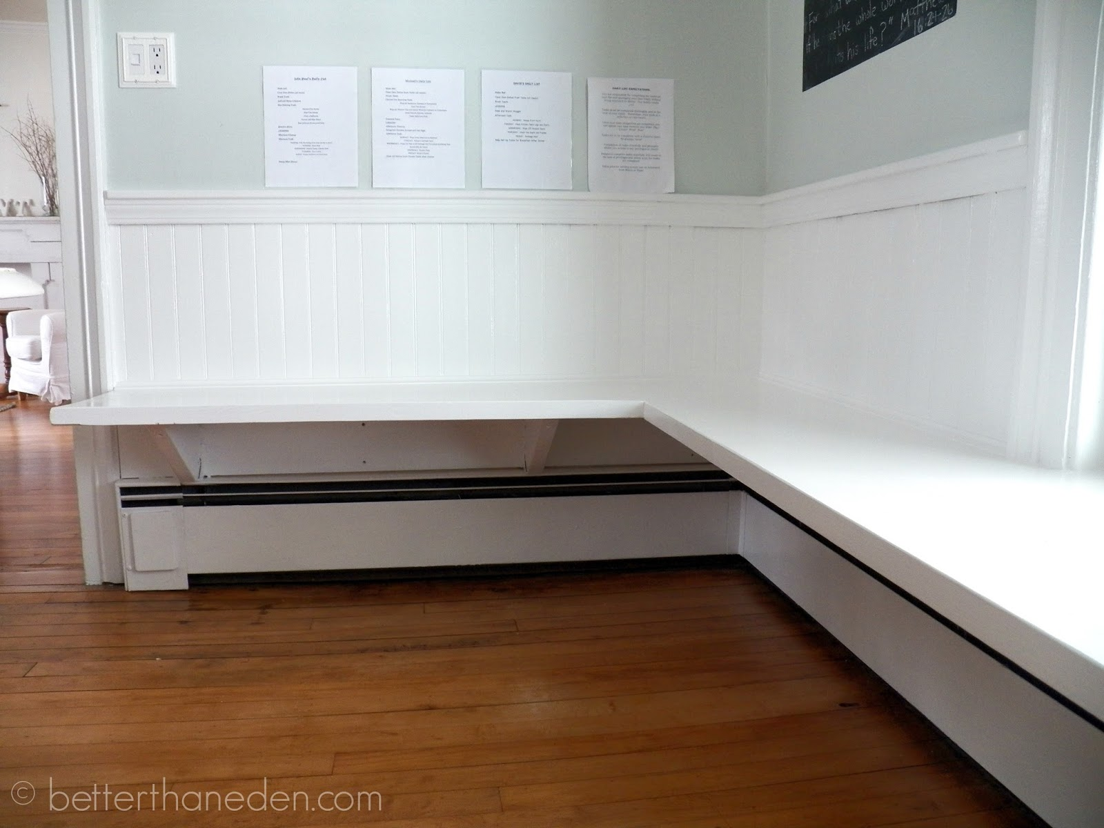 the floating built in kitchen bench mary haseltine. Black Bedroom Furniture Sets. Home Design Ideas