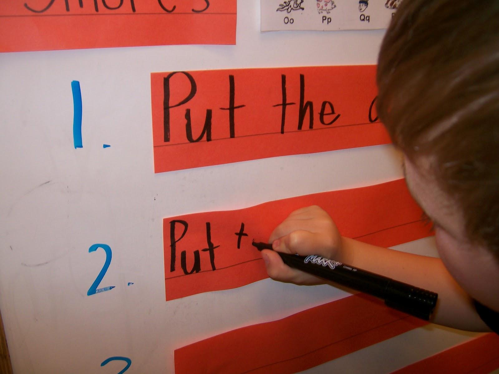 Kindergarten: Writing in Kindergarten