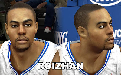 NBA 2K13 Mod Aaron Afflalo Cyberface Update