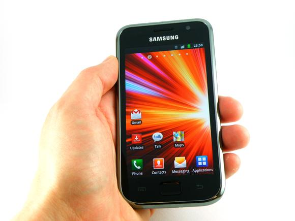 samsung galaxy s plus hands on
