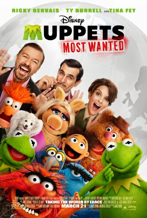 Muppets Most Wanted (2014) Movie Poster