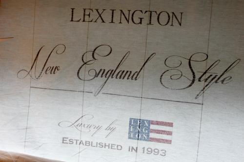 En vintage drøm: lexington inspirert   diy