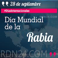 Día Mundial de la Rabia #DíasInternacionales