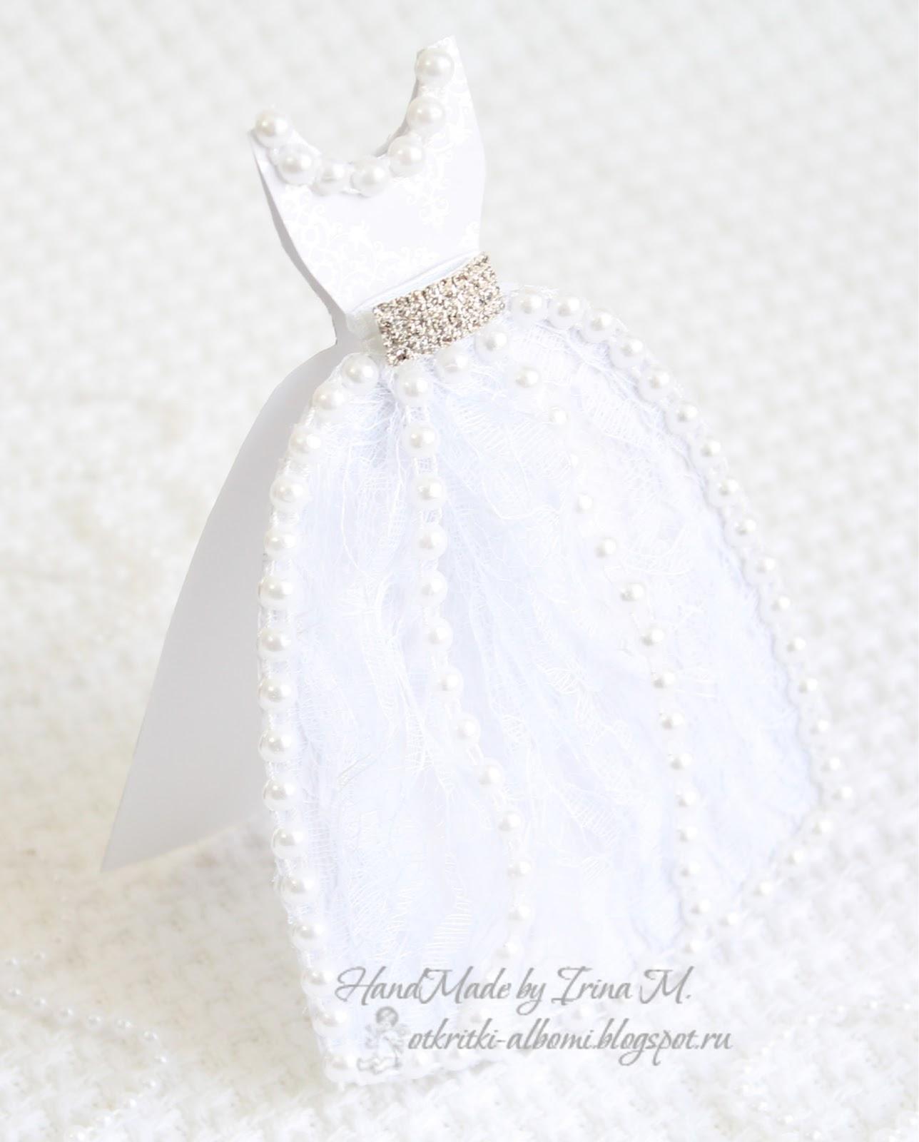 Свадебные платья на открытку