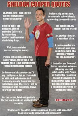 Sheldon Cooper die besten Zitate