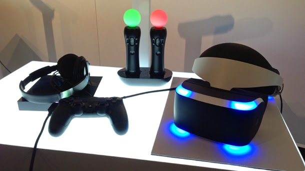 VR Project Morpheus2