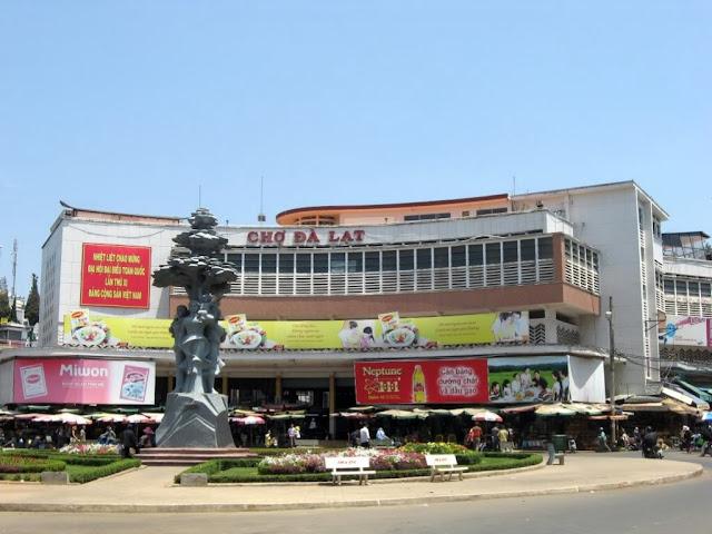 The Da Lat market
