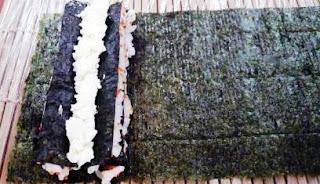Ролл Мозаика с лососем