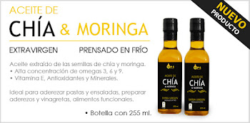 aceite de chia con moringa