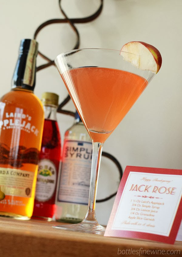 jack rose cocktail recipe