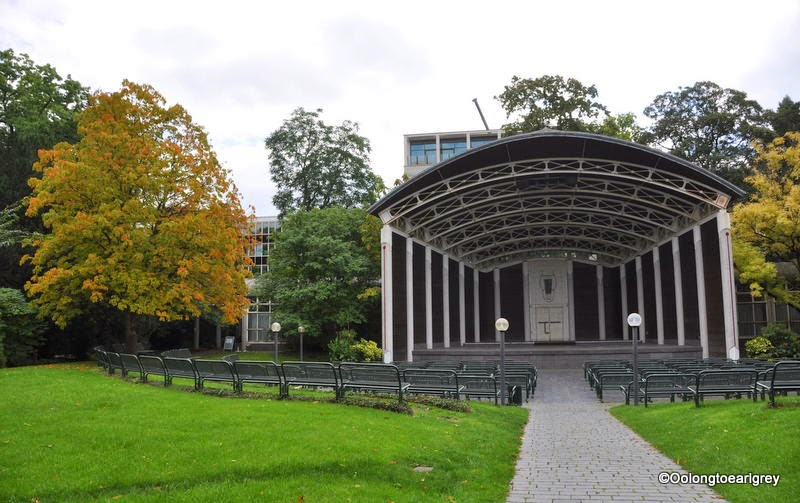Music Pavillion, Palmengarten Garden, Frankfurt Germany