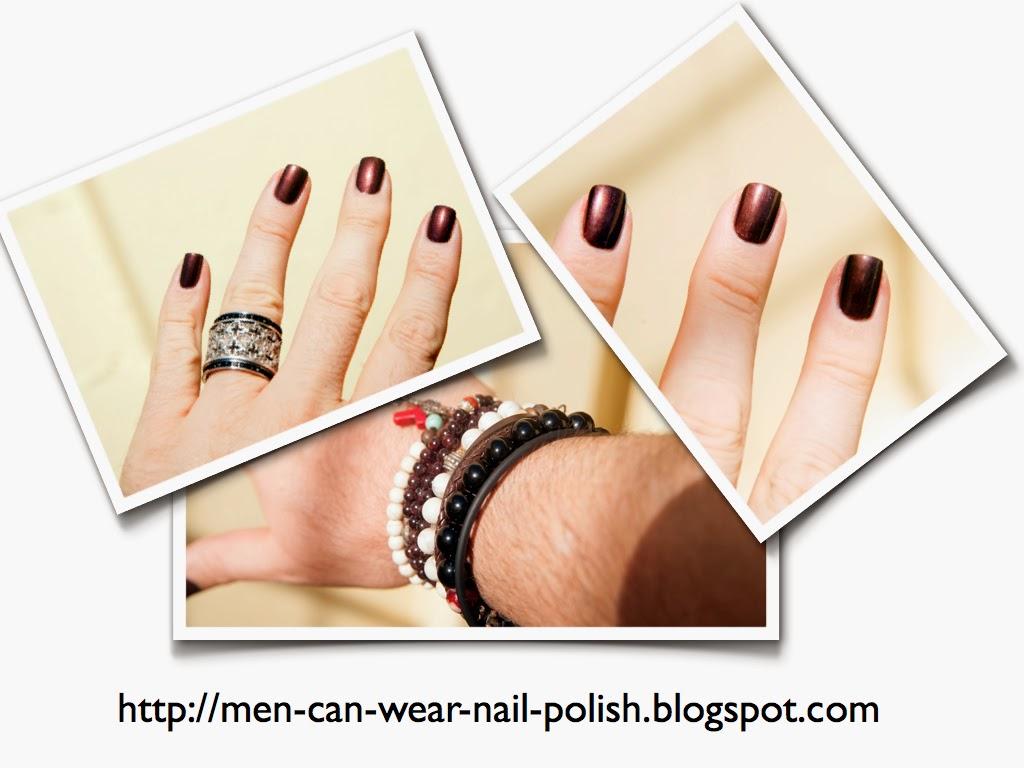 Men can wear nail polish: Nina Ultra Pro \