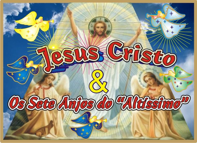 Jesus e Seus Sete Anjos de Luz