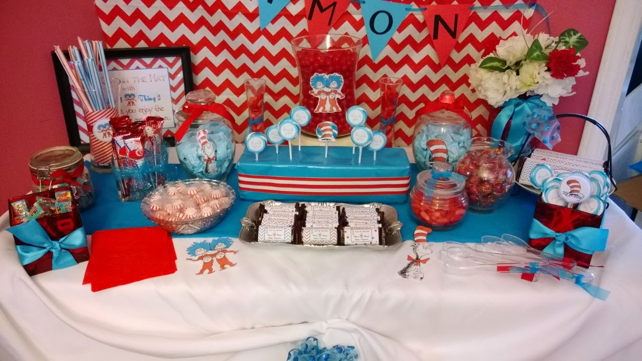 solutions event design by kelly cat in the hat baby shower