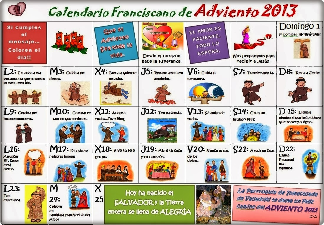 Calendarios personalizados 2014 como imprimir for Calendario adviento ikea