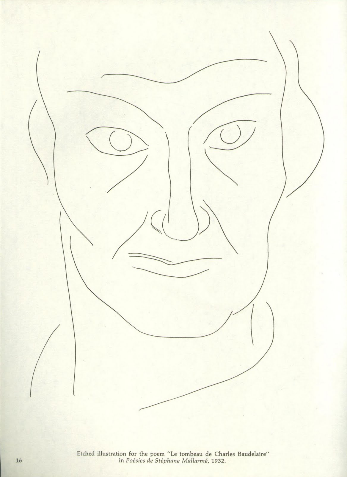 Line Drawing By Matisse : Un rincón sombra matisse line drawing and prints