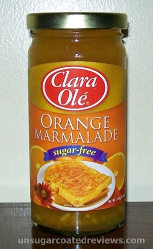 Clara Ole sugar-free orange marmalade