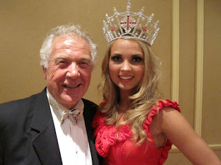 Gordon King with Miss England Alize Mounter