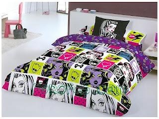 Falando de Monster High: Quartos decorados!