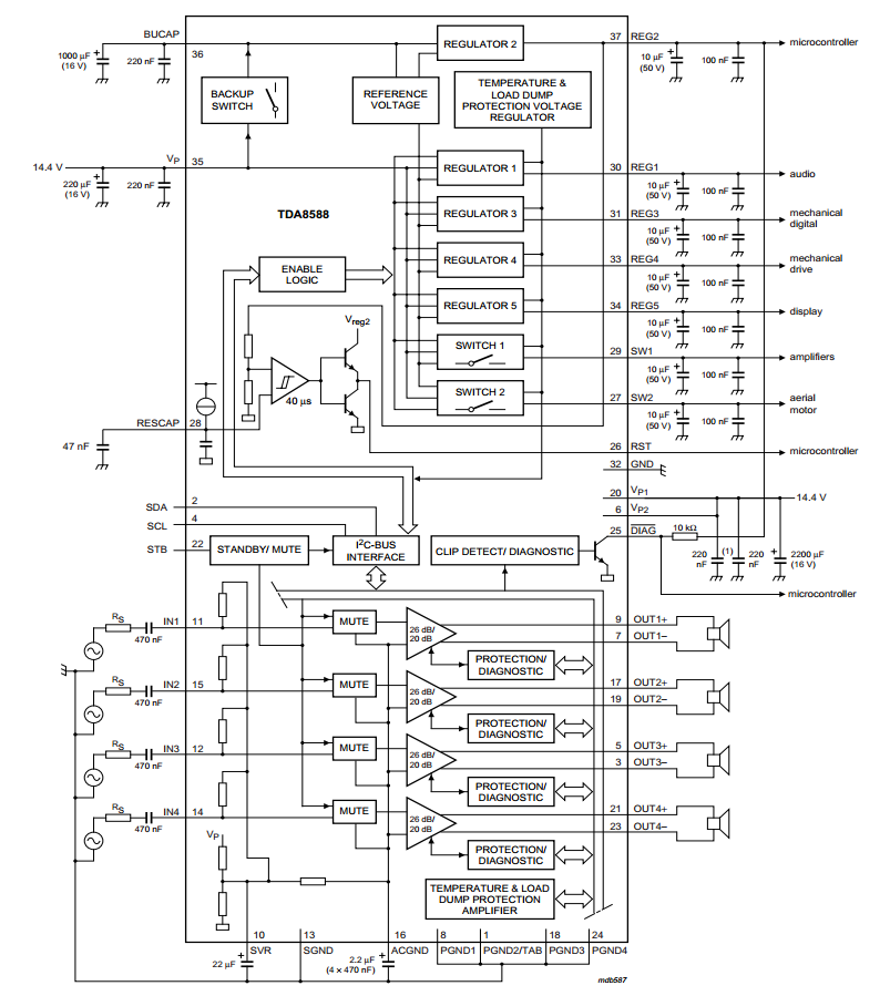 amplifiercircuits com  voltage regulator
