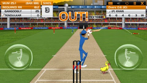 "Download ""Stick Cricket Premier League"" for iPhone and iPad"