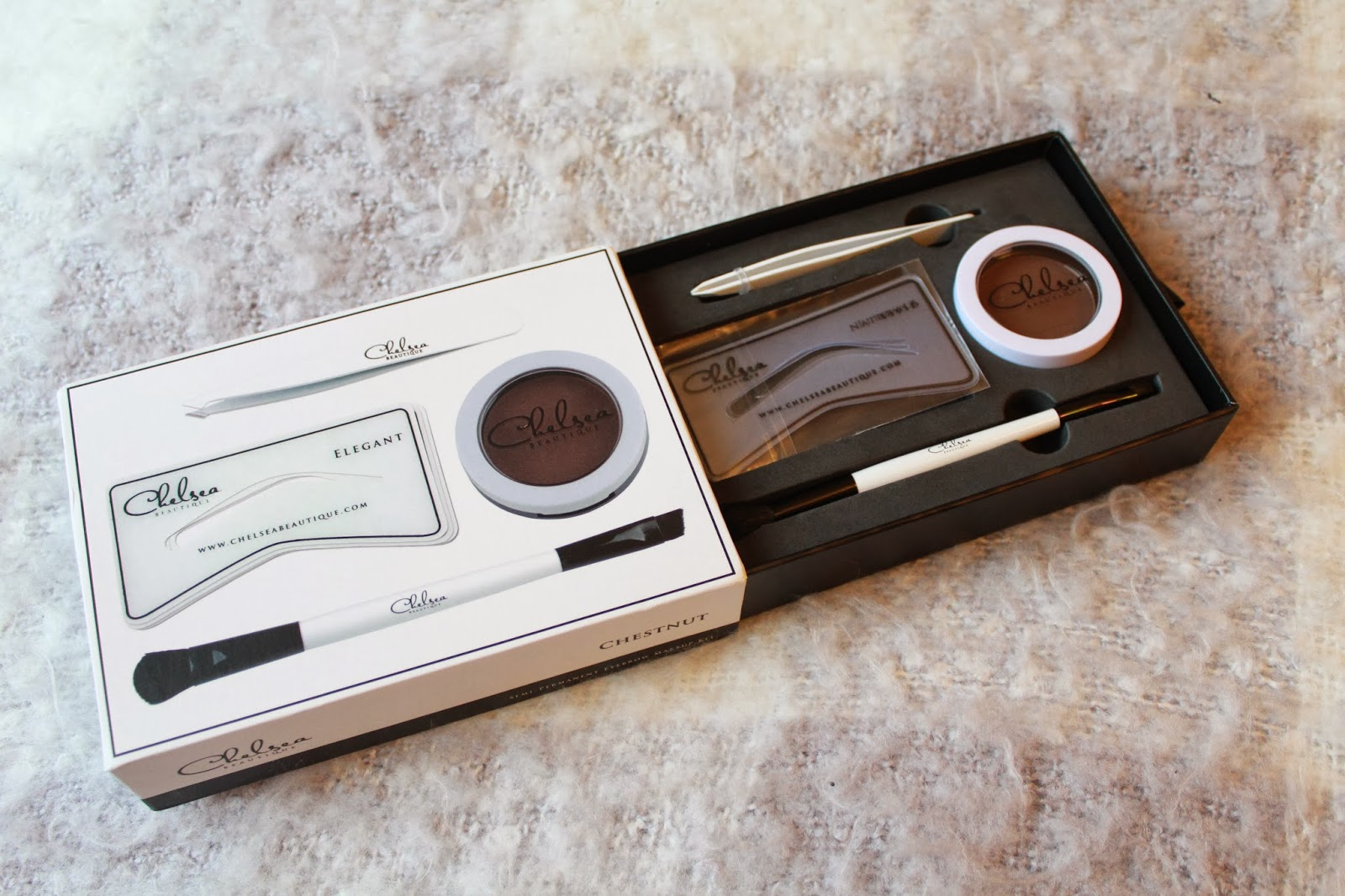 Chelsea Boutique Chestnut Eyebrow Kit