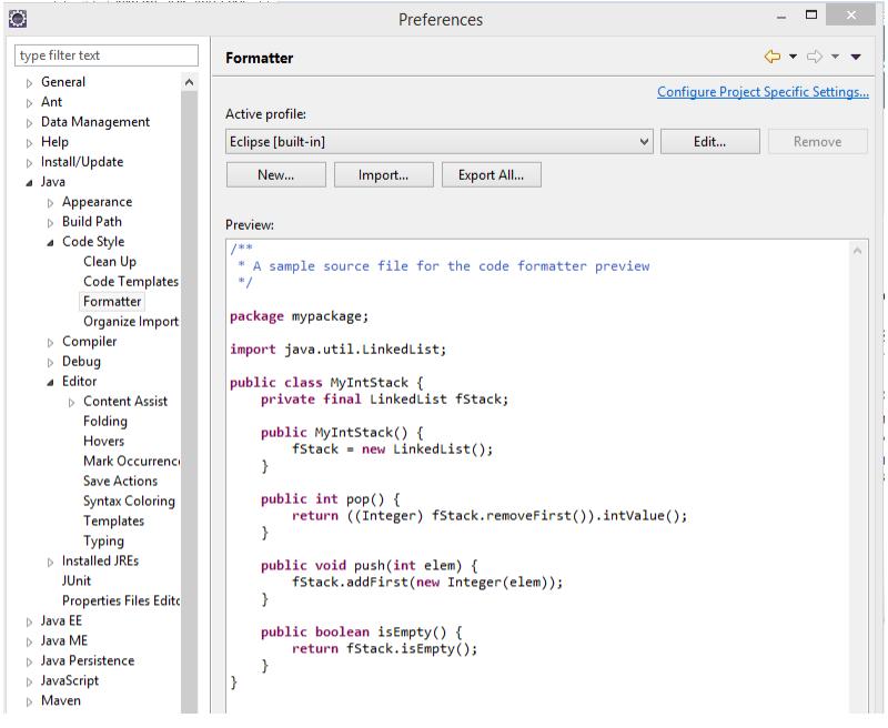 java source code formatter online dating