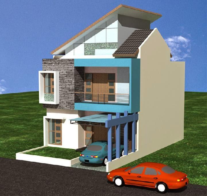 Bangunan Rumah Minimalis kooltips