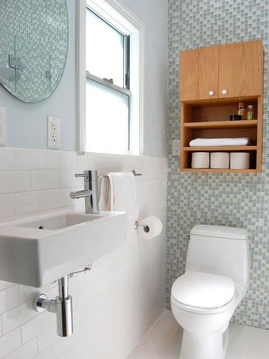 Meninices de Mulher Decoração de Banheiros Pequenos -> Decoracao De Banheiros Super Pequenos