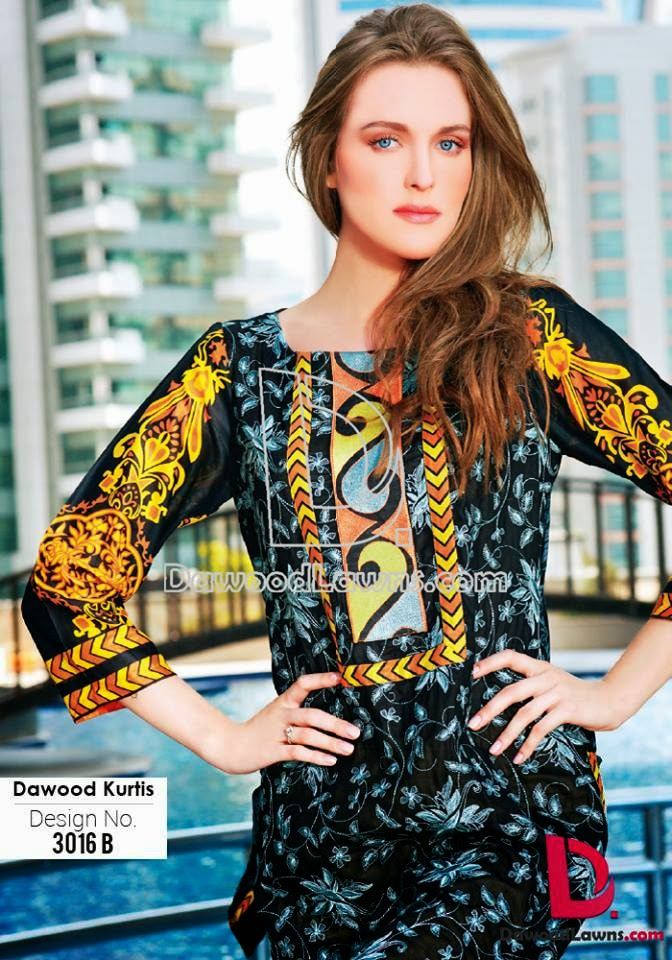 Latest designs of kurtis 2015
