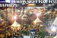 Arabian Night Food Fest La Piazza Kelapa Gading | Suasana Kampung Mesir Ramadan