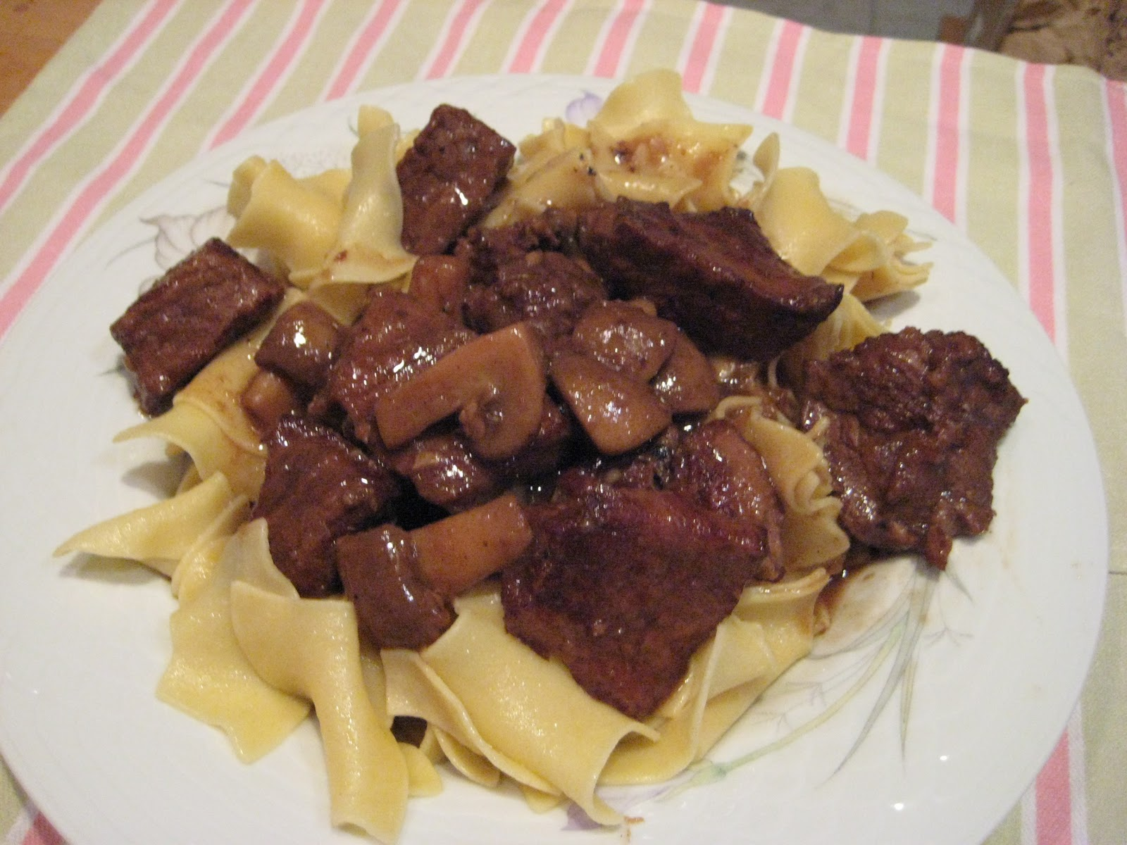 Mushroom Stew From 'Stewed' Recipe — Dishmaps