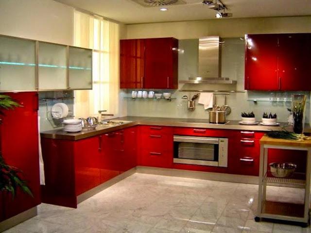 3300 2 or 1401695933 تصميم وديكور مطبخ بمساحة كبيرة بالصور