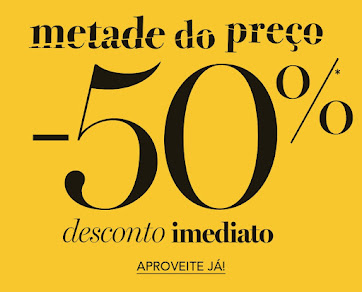 LA REDOUTE | 50% Desconto em Artigos Selecionados + Portes Grátis
