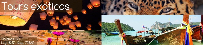 Viajes a destinos exóticos del mundo