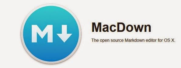 MacDown markdown editor for Mac OS X
