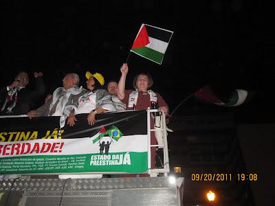 Ato histórico em São Paulo pelo Estado da Palestina Já - foto 39