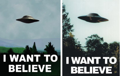 I want to believe x files poster original