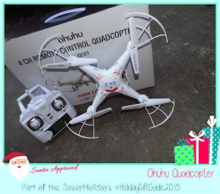 Ohuhu Quadcopter:  A SassyHolidays Gift IDea