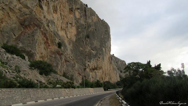 Горы. Трасса Севастополь-Ялта