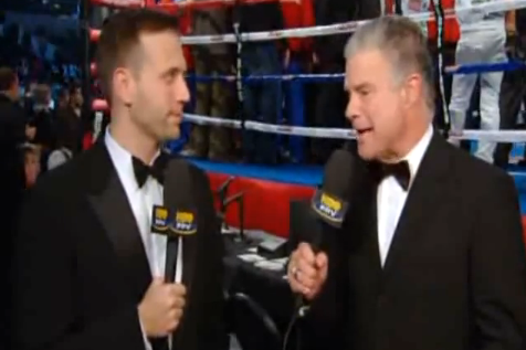 Hbo Boxing Commentators Title on Hbo Live Boxing