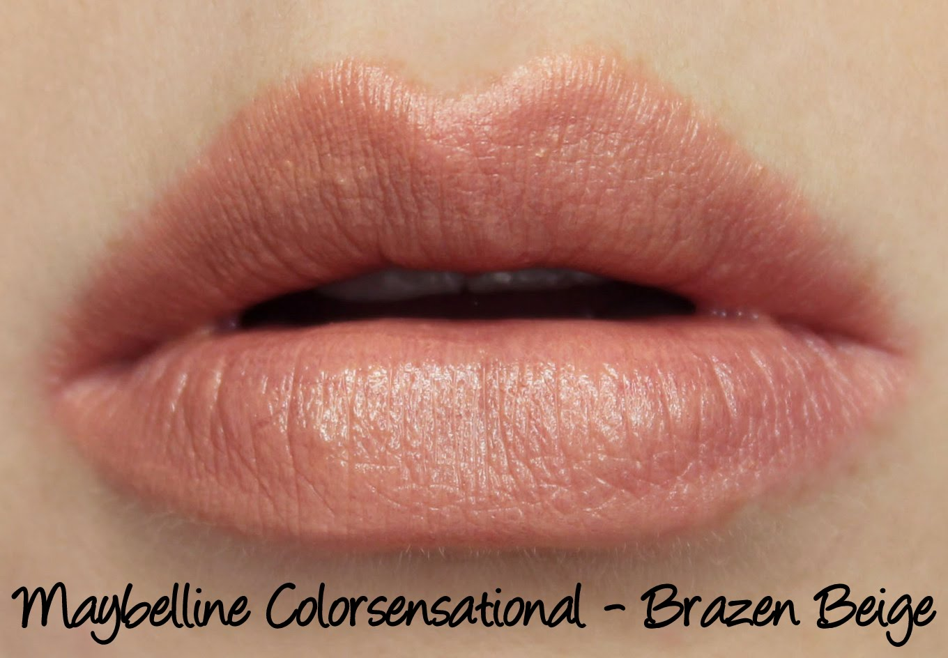 Maybelline Colorsensational Stripped Nudes Sultry Sand Lipstik Brazen Beige Lipstick Swatches Review