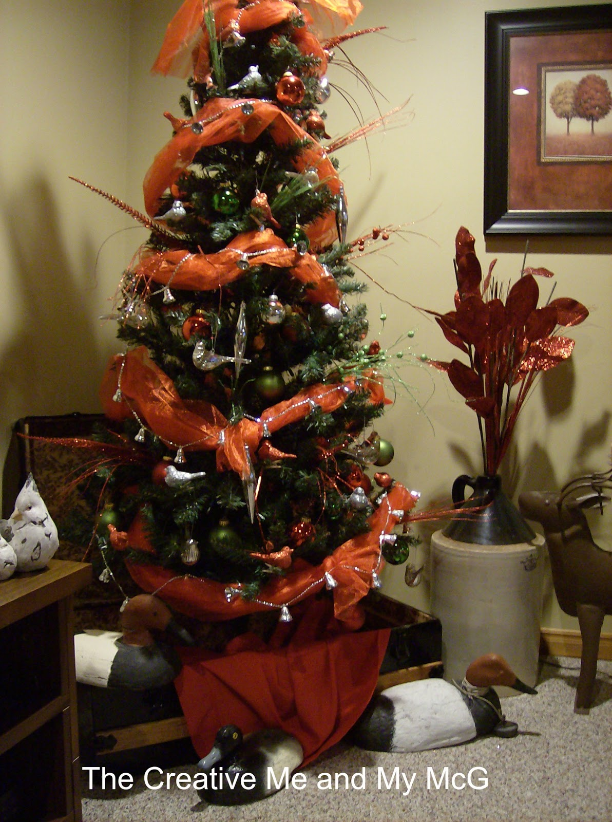 the creative me and my mcg our tree 2012