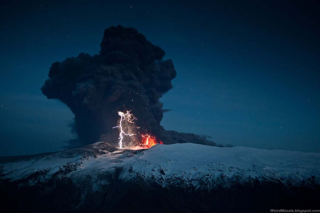 Volcano Photos in the Lens of David Jon Ogmundsson