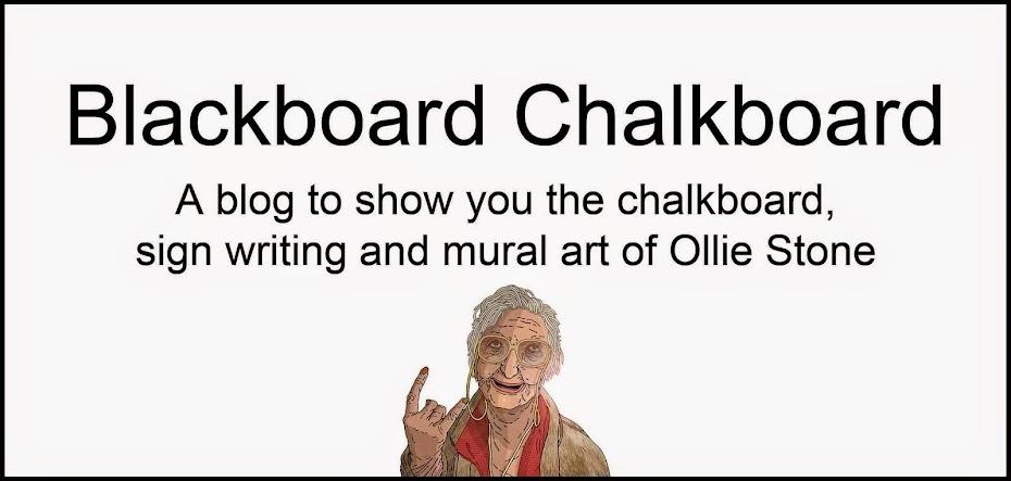 Blackboard Chalkboard by Ollie Stone