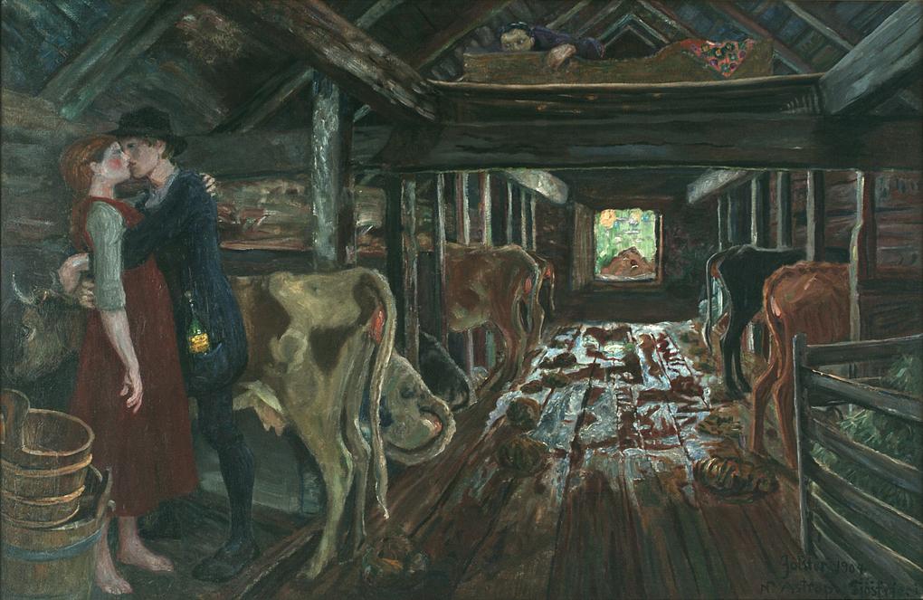 nikolai astrup-挪威知名藝術家,他的作品可以看作是季節的串行處理,小花園.果樹.和菜地.湖泊.山脈.森林和田野。(1880年-1928年)。。。 - milk  - ☆ Milk ☆ 平平。淡淡。也是真。