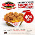 Shakey's Chicken 'N' Mojos Monday Madness