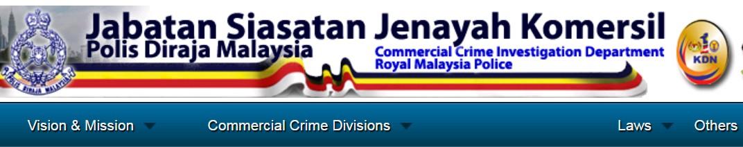 JSJK / CCID Bukit Aman
