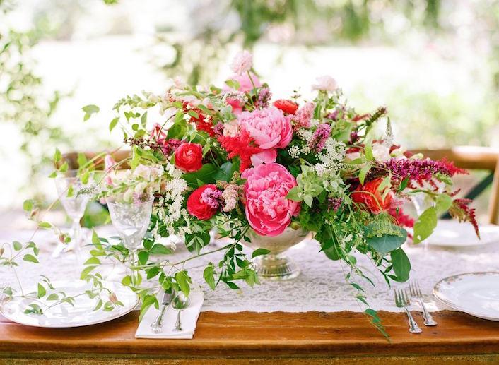 Copa de flores Holly Chapple Flowers